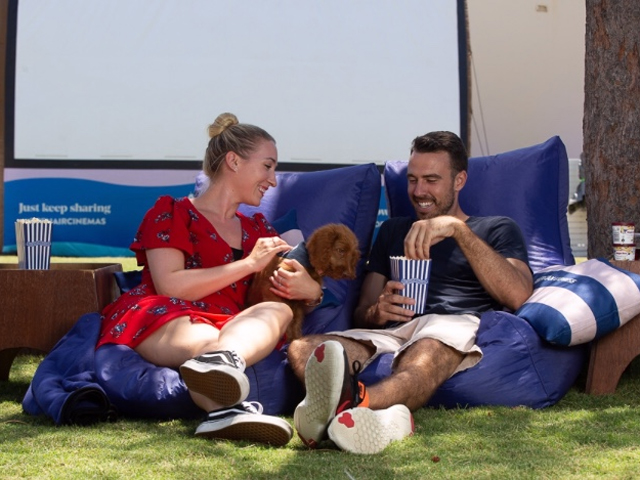 American Express Openair Cinemas Doggy Dates with Billy + Margot
