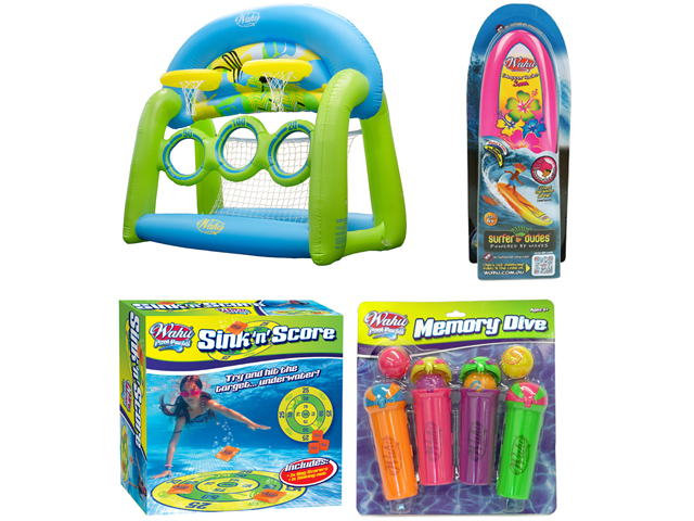 Wahu Pool Toy Packs