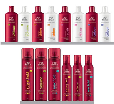 Wella Pro Series Care Collection