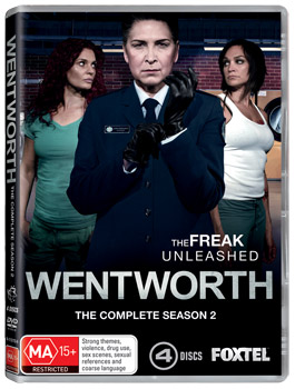 Wentworth The Complete Season 2 DVD