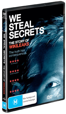 We Steal Secrets: The Story of WikiLeaks DVD