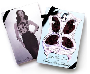Dita Von Teese in-store Appearance at Wheels & Dollbaby