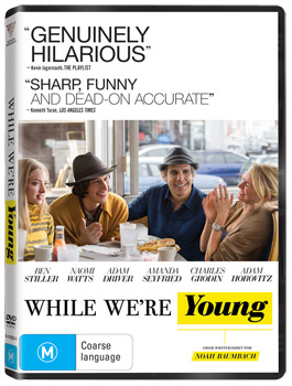 Amanda Seyfried While We're Young DVD Interview
