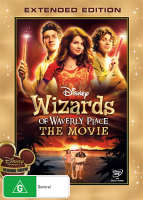 Wizards of Waverly Place The Movie plus interview with Selena Gomez