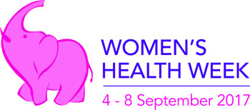 Women.s Health Week 4-8 September