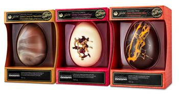 Woolworths Gold Easter Eggs