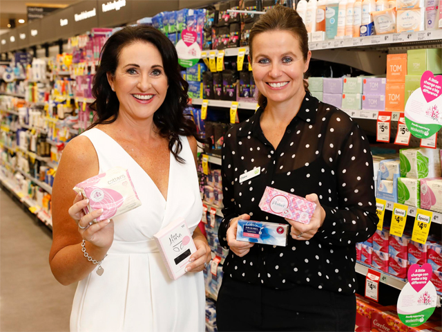 Woolworths & Share the Dignity: Fight To End Period Poverty