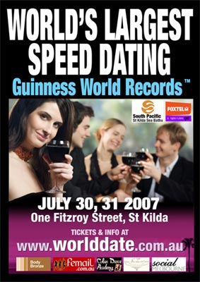 Speed dating races to world record