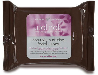 WotNot Naturally Nurturing Facial Wipes Review