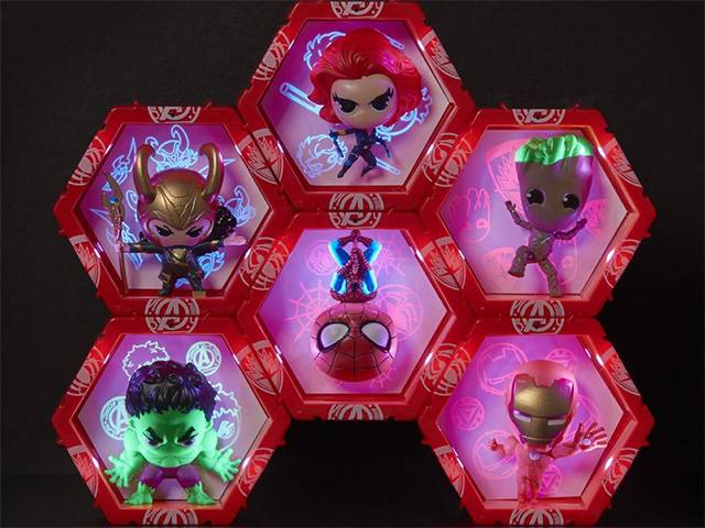 Wow Pods! Collect, Connect, Display