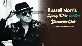 Russell Morris Cup Eve at Yarraville Live