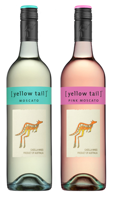 [yellow tail] Pink Moscato