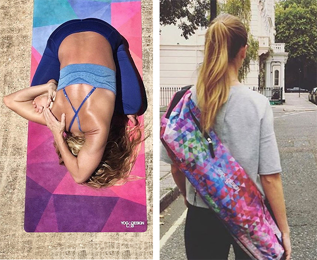 Win a Yoga Mat & Bag Pack