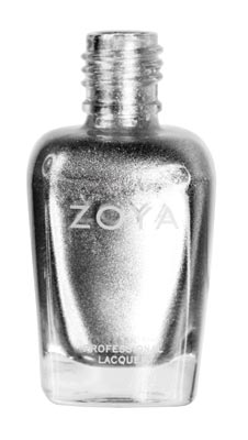 Zoya Trixie Silver The Hot New Neutral Nail Trend