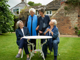 Dame Judi Dench Tea With The Dames