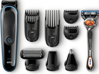 The Braun Styling Range