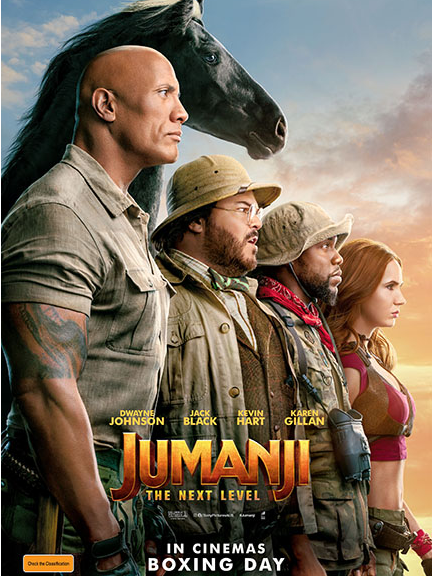 Jumanji: The Next Level Movie Tickets