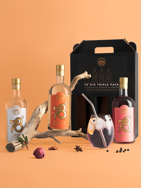 Win an Adelaide Hills 78˚ Gin Triple Pack