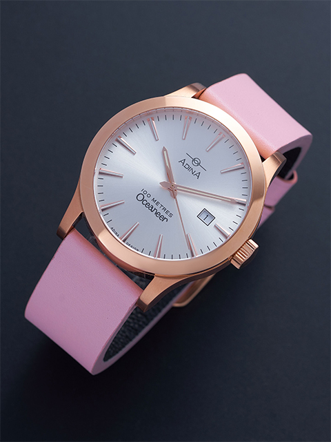Win Adina Countrymaster Sports Watch NK129 R1XS (Pink Strap)
