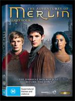 The Adventures of Merlin Series 4 DVD