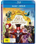 Alice Through the Looking Glass DVDs and Blu-rays