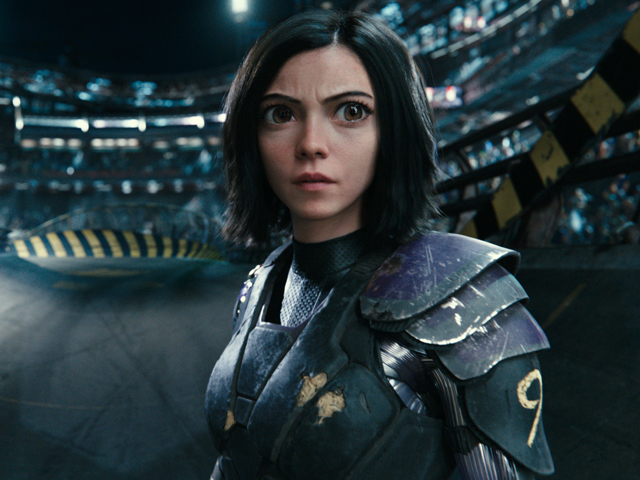 Rosa Salazar Alita: Battle Angel