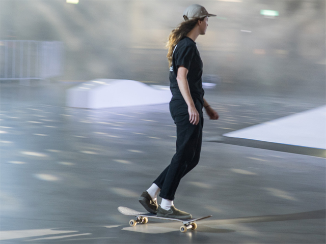 Amy Massie SKATE at Barangaroo Interview