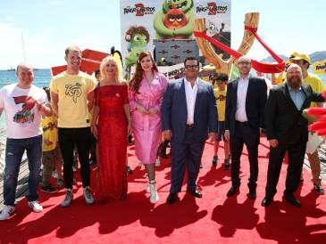 The Angry Birds at Cannes