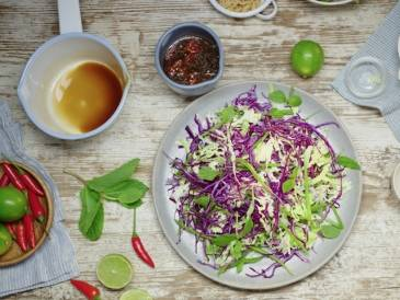 Asian Slaw with Vietnamese Dressing