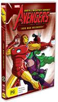 The Avengers Ironman Unleashed DVD