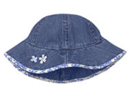 Baby Gap Embellished Denim Hat