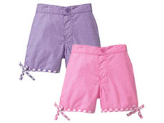 Baby Gap Polka-dot Tie Shorts