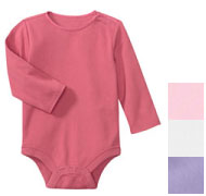 Baby Gap Satin Trim Body Suit