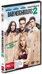 Bad Neighbours 2 DVDs