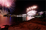 New Year's Eve 2016 at Barangaroo Reserve