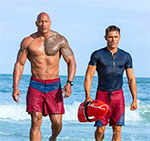 Dwayne Johnson & Zac Efron Baywatch