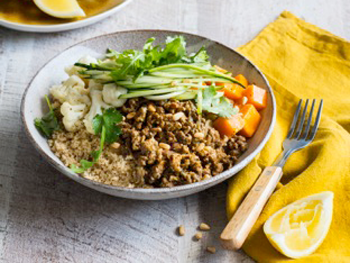 Beef Mince Bowl