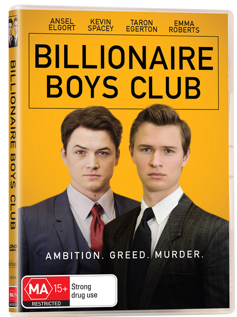 Billionaire Boys Club DVDs