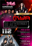 Arenaent Present: Mya, Blackstreet and 112