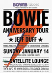 Bowie Unzipped - Anniversary Tour Starring Jeff Duff