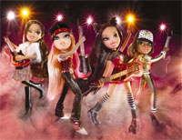 Bratz Really Rocks Doll DVD & CD