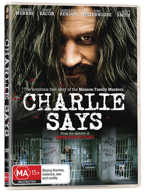Charlie Says DVDs