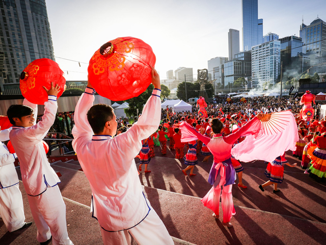 Chinese New Year Melbourne Festival