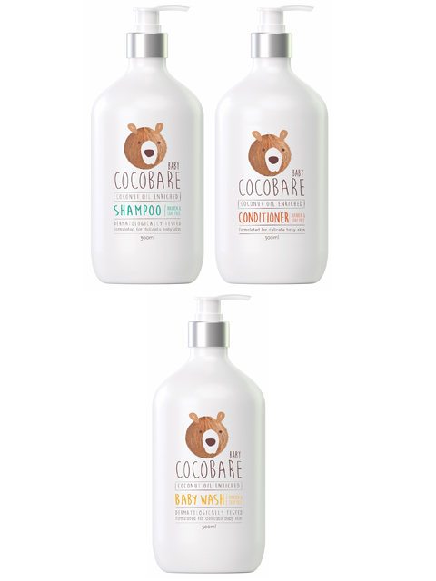 CocoBare Baby New Range Packs