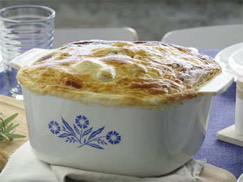 Lamb and Rosemary Pot Pie