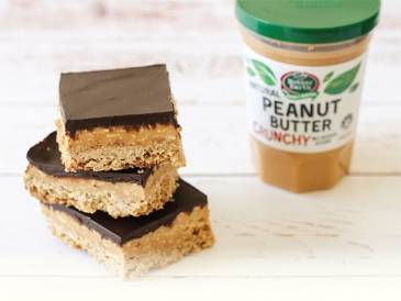 Mother Earth Crunchy Peanut Butter Slice