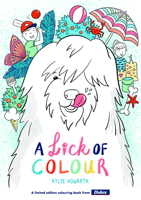 Win Dulux Easter Colouring Books