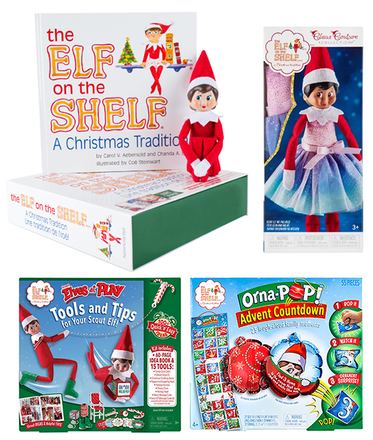 Win a Elf On The Shelf Pack