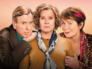 Imelda Staunton Finding Your Feet Interview