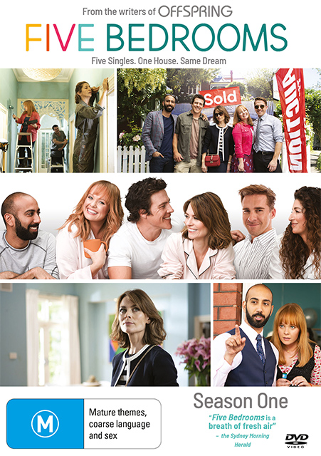 Win Five Bedrooms Season 1 DVDs